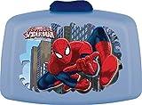 Trudeau 5061105 Boîte à Gouter PVC Spiderman Plastique, Bleu