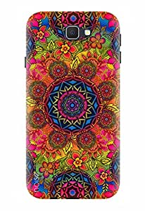 Noise Designer Printed Case / Cover for Samsung Galaxy On8 / Patterns & Ethnic / Rangoli Design