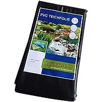 Teichfolie PVC 4m x 2m 1,0mm schwarz Folie für den Gartenteich