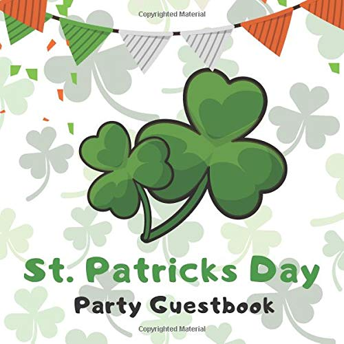 St. Patrick's Day Party Guestbook
