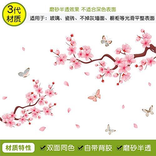 AITU WandtattoosWandbilder Malen in der fee wandaufkleber Aufkleber dekorative tapeten kreative Schlafzimmer Bett Selbstklebende chinesische Wohnzimmer, 7 - Fee-bett-satz