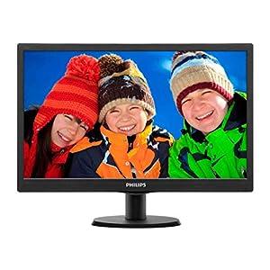 Philips-193V5LSB2-185-inch-LCDLED-Monitor-Black