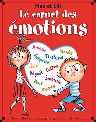 Le carnet des émotions Max et Lili par