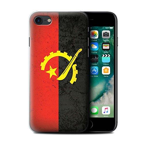 Coque de Stuff4 / Coque pour Apple iPhone 6S / Tunisie/Tunisien Design / Drapeau Africain Collection Angola/Angolais