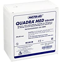 QUADRA MED square 38x38 mm S 100 St Pflaster preisvergleich bei billige-tabletten.eu