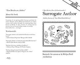Surrogate Author: Authdas Journey of Nine-month book delivery! by [Avvannavar, Santosh, Patil, Shilpa]