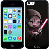 Coque Silicone pour Iphone 5C - Flare Bâton Guerrier by Adam Lawless