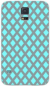 Timpax protective Armor Hard Bumper Back Case Cover. Multicolor printed on 3 Dimensional case with latest & finest graphic design art. Compatible with Samsung Galaxy S-5 / S5 Design No : TDZ-22515