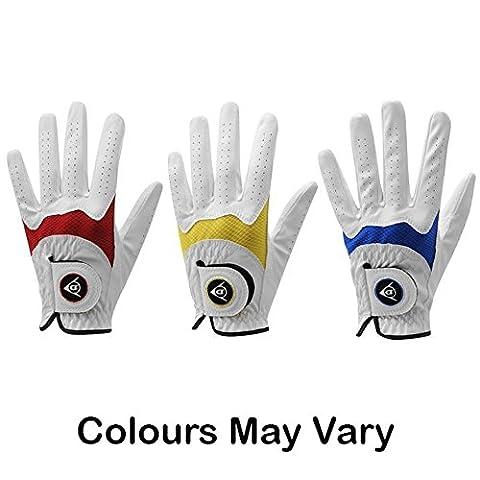 Dunlop Tour à toutes les intempéries Junior pour enfant Gant de golf main gauche élastique poignet petit blanc - Dunlop Golf Irons
