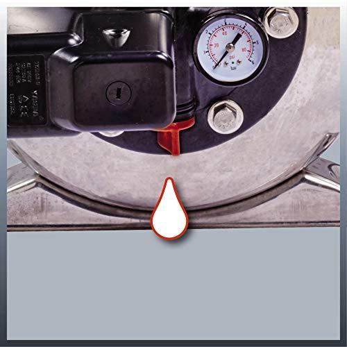 Einhell Hauswasserwerk GC-WW 1250 NN (1200 W, 5000 L/h Max. Fördermenge, Max. Förderdruck 5 bar, Druckschalter, Manometer, 20 L Behälter) - 6