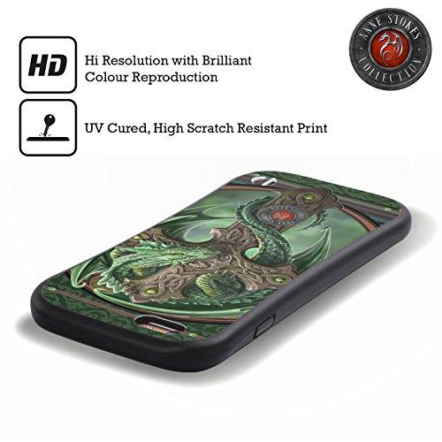Offizielle Anne Stokes Nobel Drachen Hybrid Hülle für Apple iPhone 6 / 6s Waldhüter