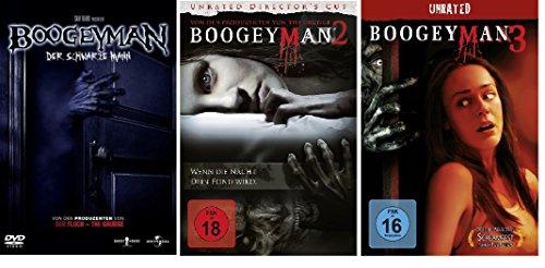 The Boogeyman 1-3 DVD Set, deutsch, uncut, 1,2,3, I,II,III, I-III