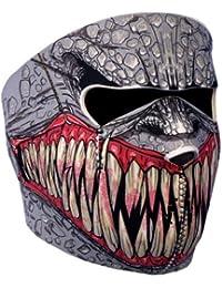 Hot Leathers Pasamontañas máscara protección Neoprene Demon '–talla única regulable–Airsoft–Paintball–outdoor–esquí Snow–Surf–Moto–Biker–Quad