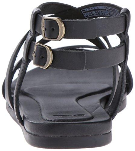 TevaAvalina Crossover Leather W's - Sandali da Atletica Donna Schwarz (black 513)