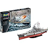 Revell - 5040 - Maquette - Cuirassé Bismarck - Echelle 1:350
