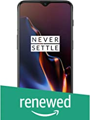 (Renewed) OnePlus 6T (Mirror Black, 8GB RAM, 128GB Storage)