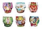 origin-AL Home & Style MÄRCHENWELT 6er Pack Wasserdicht Baby Lernwindel Trainerhosen Unterwäsche Windeln Windelhose zum Toilettentraining Töpfchentraining (Set, 90)