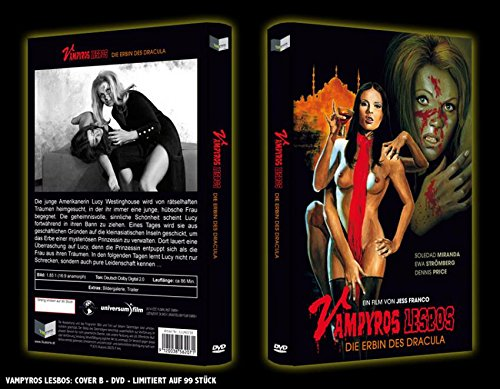 Jess Franco Collection VAMPYROS LESBOS - Die Erbin des Dracula LIMITED HARTBOX...