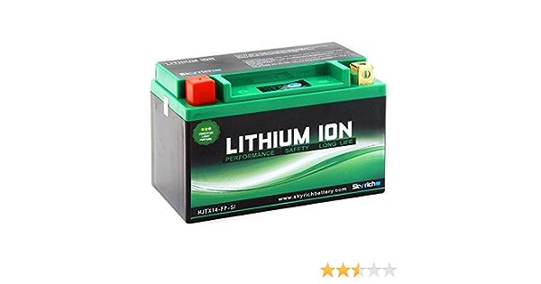 Batterie Hjtx14ah L Fp S Li Ion Wartungsfrei Skyr Sport Freizeit