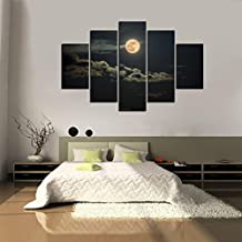 Impresión En Nuevo Para Pared Decoración Para Hogar Sala Cocina Dormitorio Cielo de Noche Luna (sin marco o bastidor)