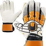 uhlsport Torwarthandschuhe mit Fingerschutz Fingersave + Handschuh Reiniger (11)