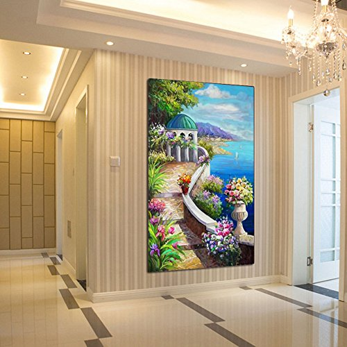 DIY 5D Landscape Diamond Painting Cross-Stitch for Entrance Living Room Bedroom - 6