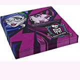 Amscan International New Monster High Servietten