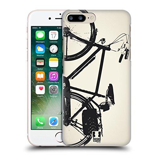 Head Case Designs Retro Biciclettopedia Cover Retro Rigida per Apple iPhone 7 Plus / 8 Plus Retro
