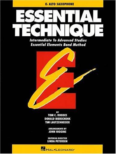 Essential Technique - Eb Alto Saxophone Intermediate to Advanced Studies (Book 3 Level)