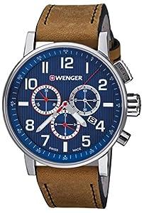 ATTITUDE CHRONO relojes hombre 01.0343.101 de Wenger