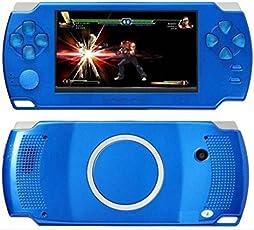 Gadget-Wagon ECO-1 8 GB 4.3 Inches with FM Radio and 1.3 MP Camera (R) 8 GB, Contra, Mario, 10000 Games Inbuilt (Blue)