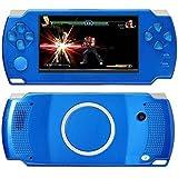 Gadget-Wagon ECO-1 8 GB 4.3 Inches With FM Radio & 1.3 MP Camera (R) 8 GB with Contra, Mario, 10000 Games Inbuilt (Blue)