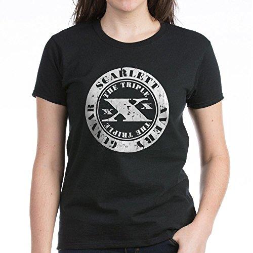 CafePress Nashville The Triple Exes T-Shirt - Womens Cotton T-Shirt