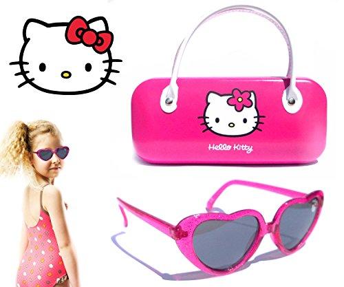 Gafas sol infantiles con funda HELLO KITTY 100% protección UV KITTYPACK4