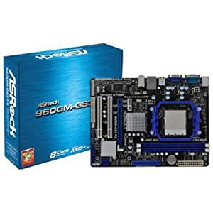 ASRock 960GM-GS3 FX Motherboard (Socket AM3+, AMD 760G, DDR3, S-ATA 300, Micro ATX, ASRock Instant Boot and OC Tuner)