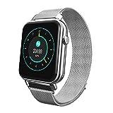 NIUQY Ausverkauf Tragbarer Mode-Design Wasserdichte Bluetooth Smart Watch-Herzfrequenz-Überwachungskamerad Perfekt Geeignet für iOS Android Y6 Pro kompatibel Gerät aufrüsten Intelligentes Gerät