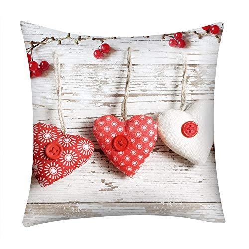 Cuscino di natale, cuscino di san valentino, cuscino di stampa cuscino caso poliestere divano auto cuscino copertina home decor da zolimx