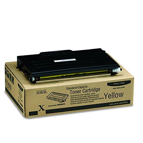 Xerox 106R00678 Phaser 6100 Tonerkartusche Standardkapazität 2.000 Seiten 1er-Pack, gelb - 106r00678 Toner