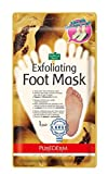 "Purederm Exfoliating Foot Mask[large size, over 270mm] Papaya and Chamomile Extract - 1 pair * ""Sock type"" foot exfoliating mask * Perfectly peel away calluses and dead skin cells in just 2 weeks! / For The Foot Size Large Over 270mm (size 40-45)"