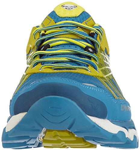 Dynafit MS PANTERA S_4053865290747_Herren Traillaufschuhe Blau (Davos/Salewa Yellow 5185)