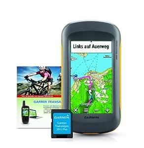 Garmin Montana 600 GPS-Gerät + Garmin Transalpin 2012 Pro grenzüberschreitende Freizeitkarte, auf microSD, M10-DE100-23