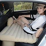 cama de choque del coche de la industria automotriz de viaje en coche cama para el automóvil inflable que viaja en coche con colchón de aire