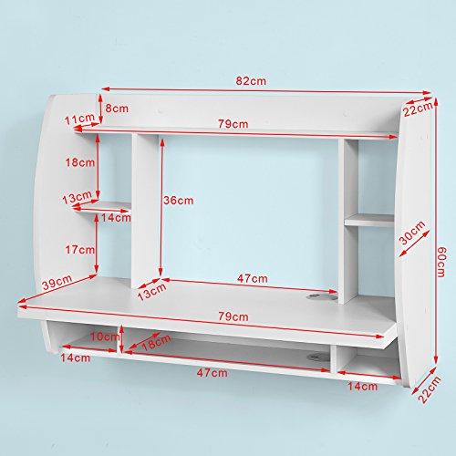 wandregal ber schreibtisch bestseller shop f r m bel und einrichtungen. Black Bedroom Furniture Sets. Home Design Ideas