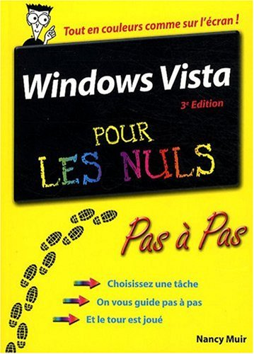 Windows Vista pour les nuls par Nancy Muir
