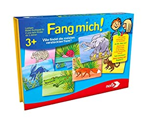 "Noris Spiele 606011626-""Fang Mich. Niños Parte"