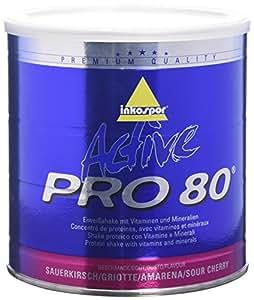 Inkospor ACTIVE Pro 80 Shake protéiné Définition Tonification et Perte de Poids Cerise 750 g