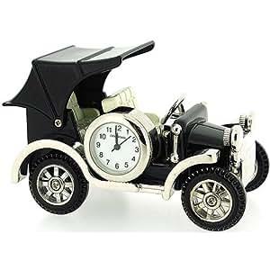 Voiture Miniature Horloge Vintage personnalisé Gravure offerte