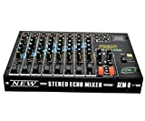 #1: MEDHA D.J. PLUS Professional 8 Channel Stero Echo Mixer