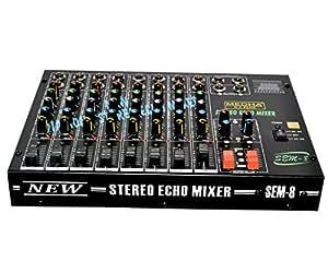 Medha D.J. Plus Professional 8 Channel Stero Echo Mixer