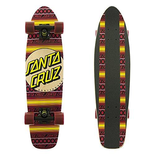 Santa Cruz Longboard Jammer Serape, 7.4 x 29.1 Zoll, SANLOBJASE